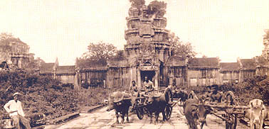 Angkor Wat in the Old Time